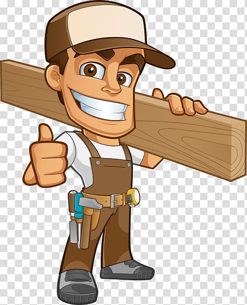 Woman carrying wood clipart banner black and white stock Man carrying plank , Carpenter Joiner , eco wood transparent ... banner black and white stock
