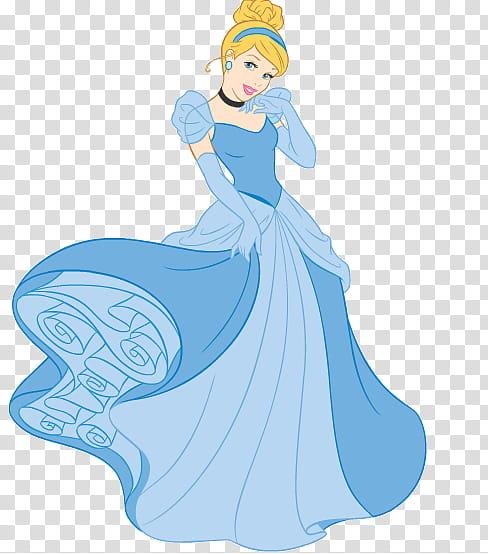Woman cinderella clipart png transparent download Disney Cinderella, woman wearing white dress illustration ... png transparent download