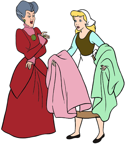 Woman cinderella clipart vector library stock Lady Tremaine, Anastasia and Drizella Clip Art   Disney Clip ... vector library stock