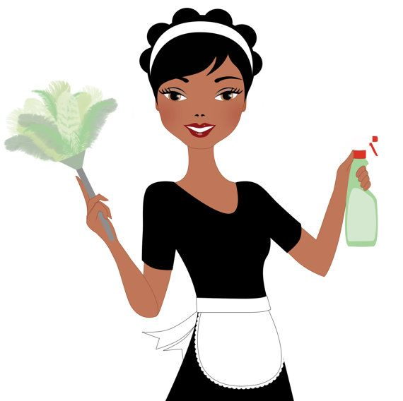 Woman cleaning clipart vector black and white Free download Woman Cleaning Clipart for your creation ... vector black and white