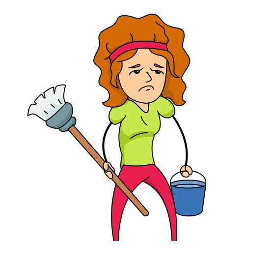 Woman cleaning clipart picture free stock Girl Cleaning Clipart Woman Household Mop - Clipart1001 ... picture free stock