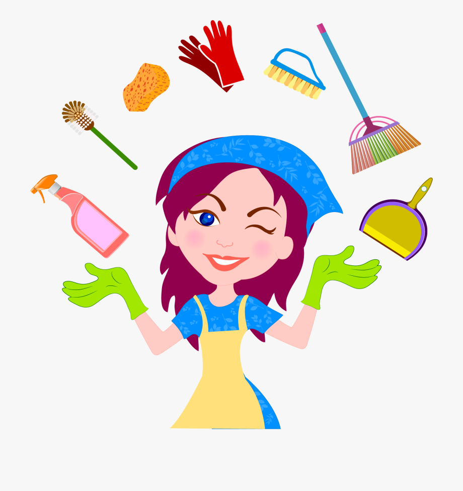 Woman cleaning clipart transparent background clipart free download Cleaner Housekeeping House Clean Helper Transprent ... clipart free download