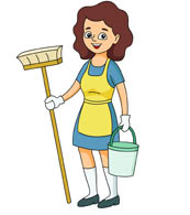 Woman cleaning clipart png library library Free Cleaning Woman Cliparts, Download Free Clip Art, Free ... png library library