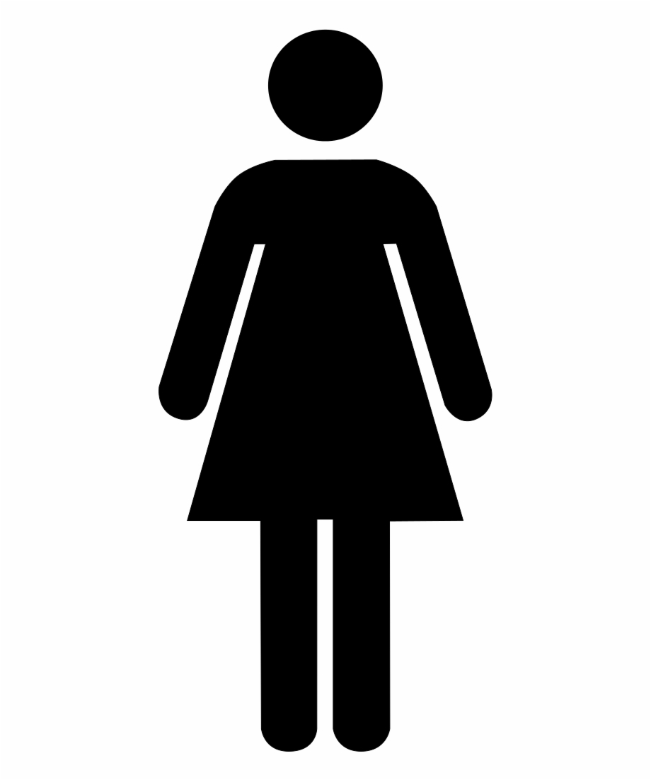 Woman clipart bathroom sign svg freeuse stock File - Toilet Women - Svg - Female Bathroom Symbol Png Free ... svg freeuse stock