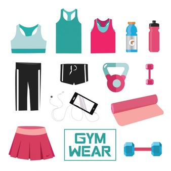 Woman clipart gym clothes png transparent library Sportswear Vectors, Photos and PSD files | Free Download png transparent library