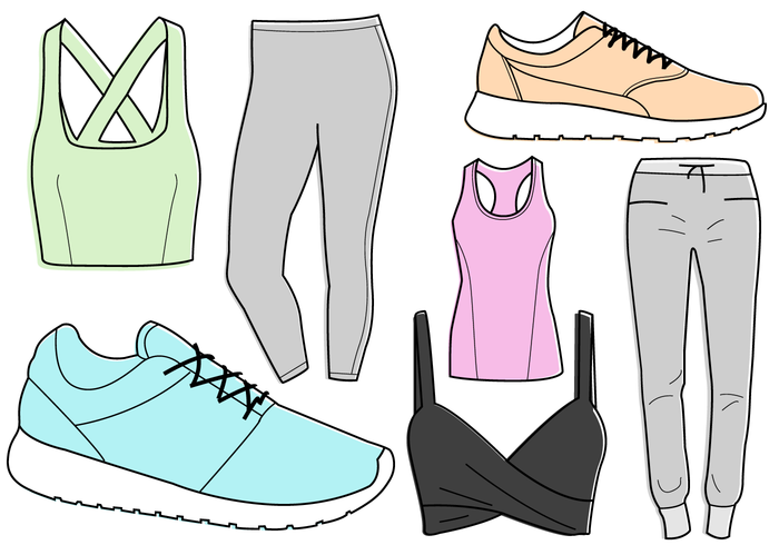 Woman clipart gym clothes picture freeuse Free Gym Clothes Cliparts, Download Free Clip Art, Free Clip ... picture freeuse