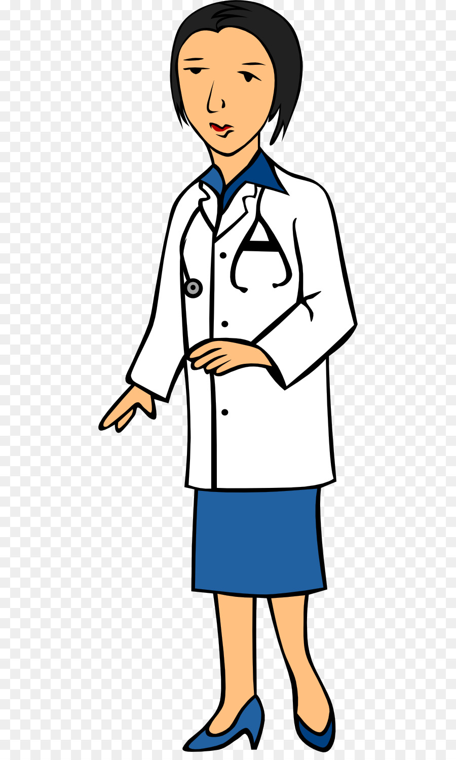 Woman doctor clipart png png transparent Physician Computer Icons Surgeon Clip art - Female Doctor ... png transparent