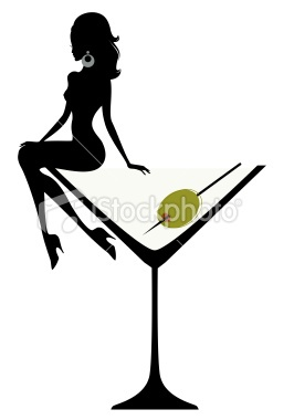 Woman drinking cocktail clipart banner free library Girl In Martini Glass Clipart | Free download best Girl In ... banner free library