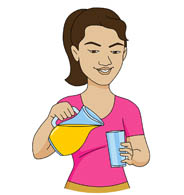 Woman drinking juice clipart png black and white Search Results for drink - Clip Art - Pictures - Graphics ... png black and white
