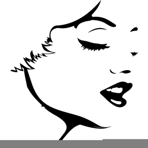 Woman face clipart image royalty free library Free Woman Face Clipart | Free Images at Clker.com - vector ... image royalty free library