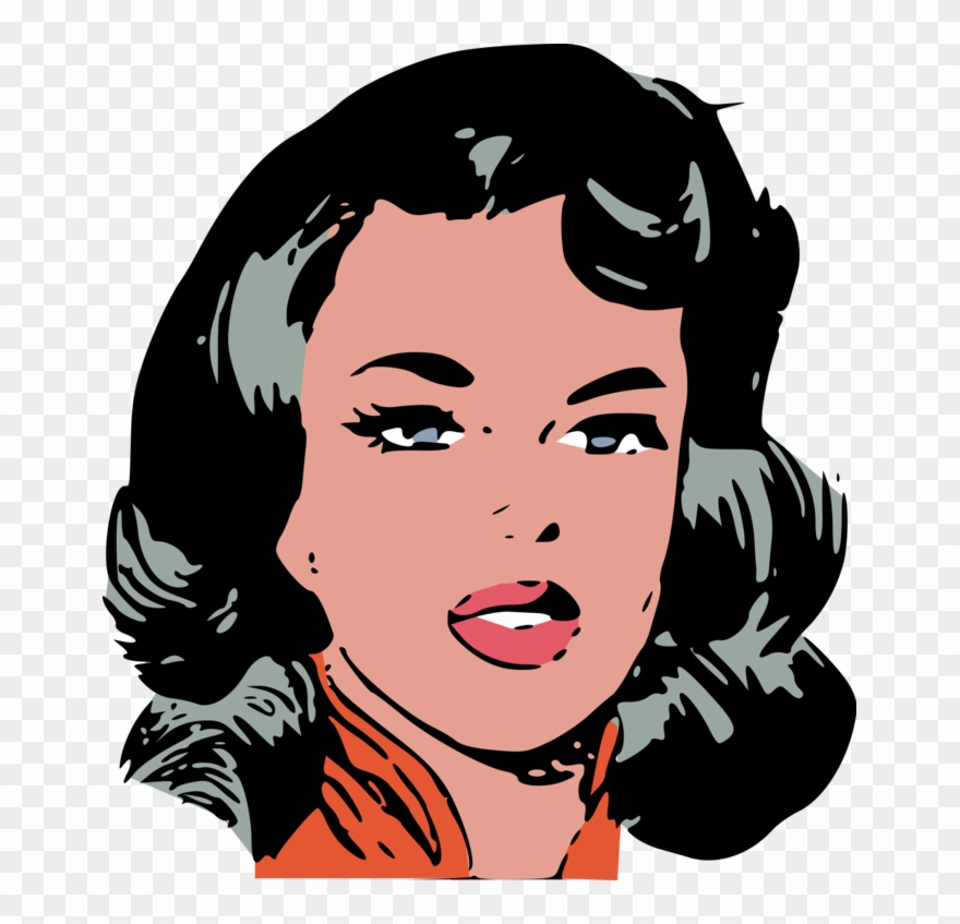 Woman face clipart clipart royalty free library Woman-face From Confidential Diary 12 - Clip Art Woman Face ... clipart royalty free library