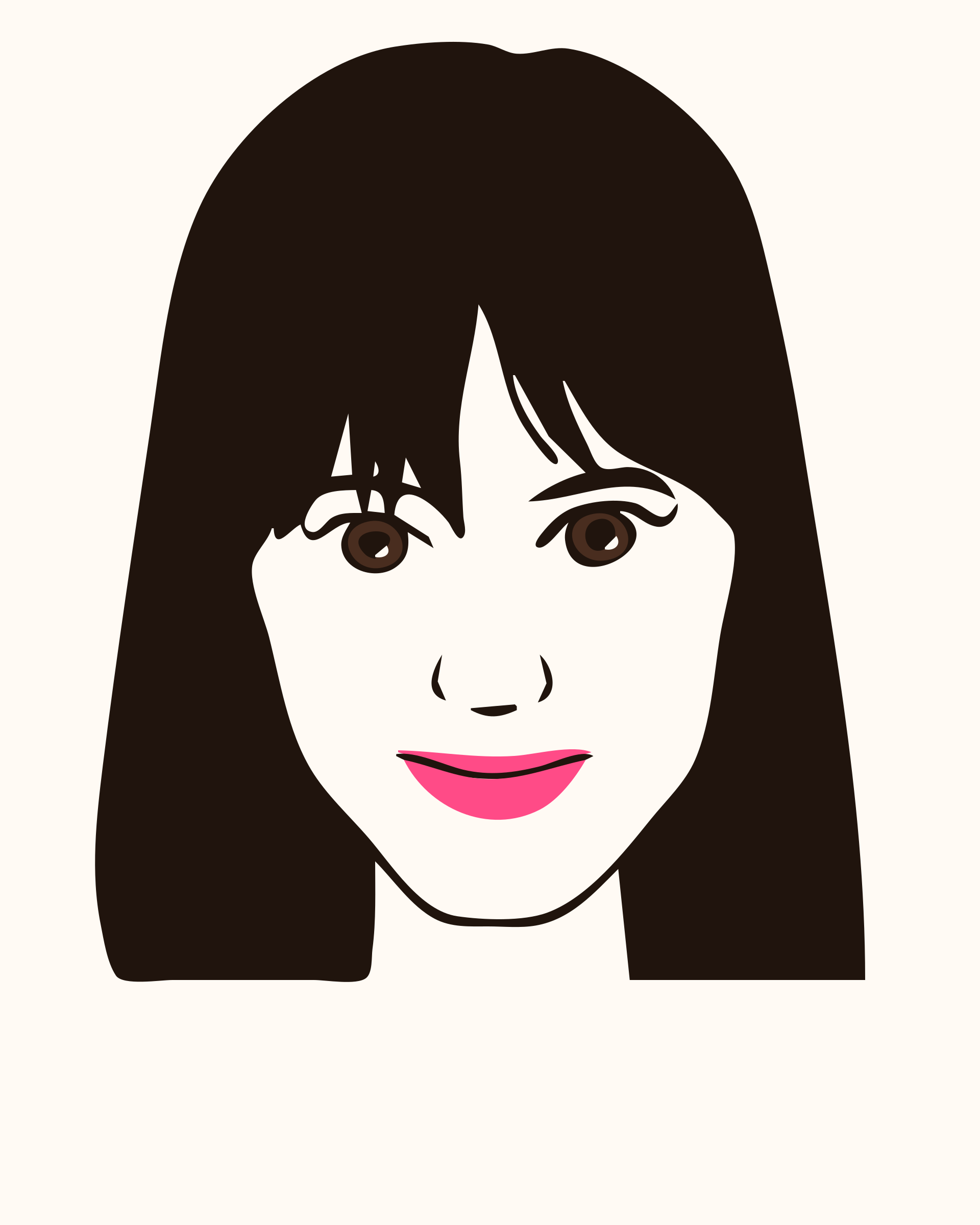 Woman face clipart vector library library Woman face clipart collection - ClipartBarn vector library library