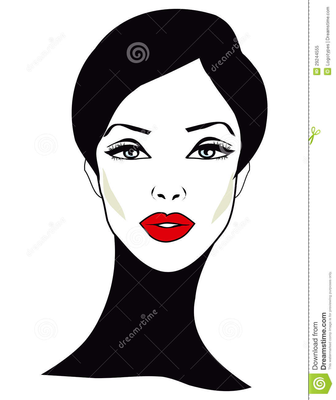 Woman face clipart black and white stock woman face clipart woman face | Clipart Panda - Free Clipart ... black and white stock