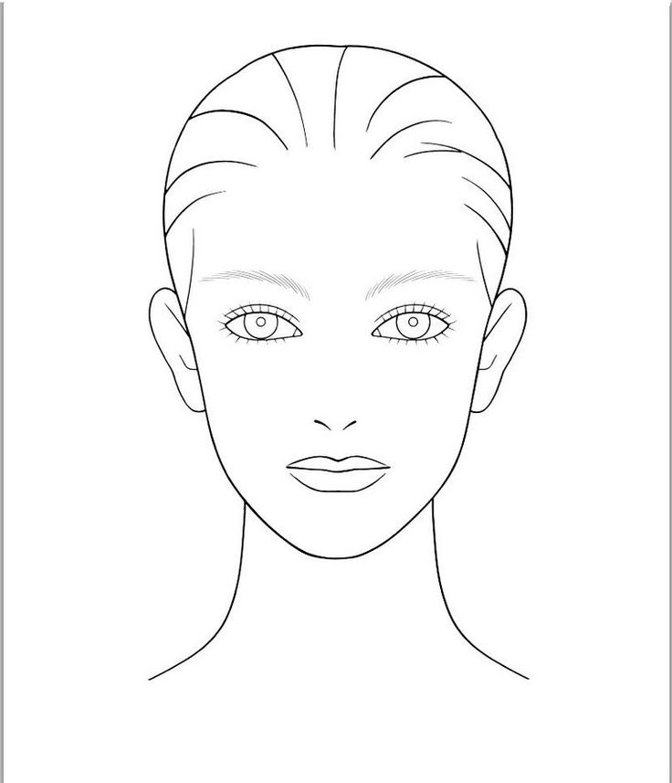 Woman face outline clipart clipart royalty free stock Free Outline Of Face Template, Download Free Clip Art, Free ... clipart royalty free stock