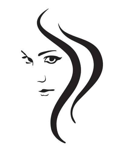 Woman face vector clipart vector royalty free Free Woman Vector, Download Free Clip Art, Free Clip Art on ... vector royalty free