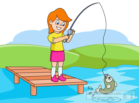 Woman fishing image clipart clipart black and white Woman Fishing Clipart | Free download best Woman Fishing ... clipart black and white