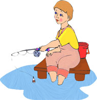 Woman fishing image clipart clip library Free Lady Fishing Cliparts, Download Free Clip Art, Free ... clip library