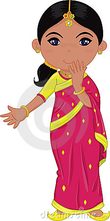Woman from india clipart banner black and white stock Woman from india clipart - ClipartFest banner black and white stock