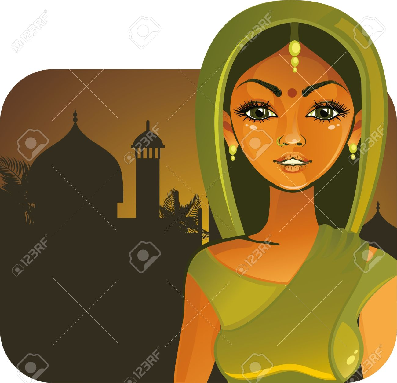 Woman from india clipart svg transparent India Cartoon Stock Photos & Pictures. Royalty Free India Cartoon ... svg transparent