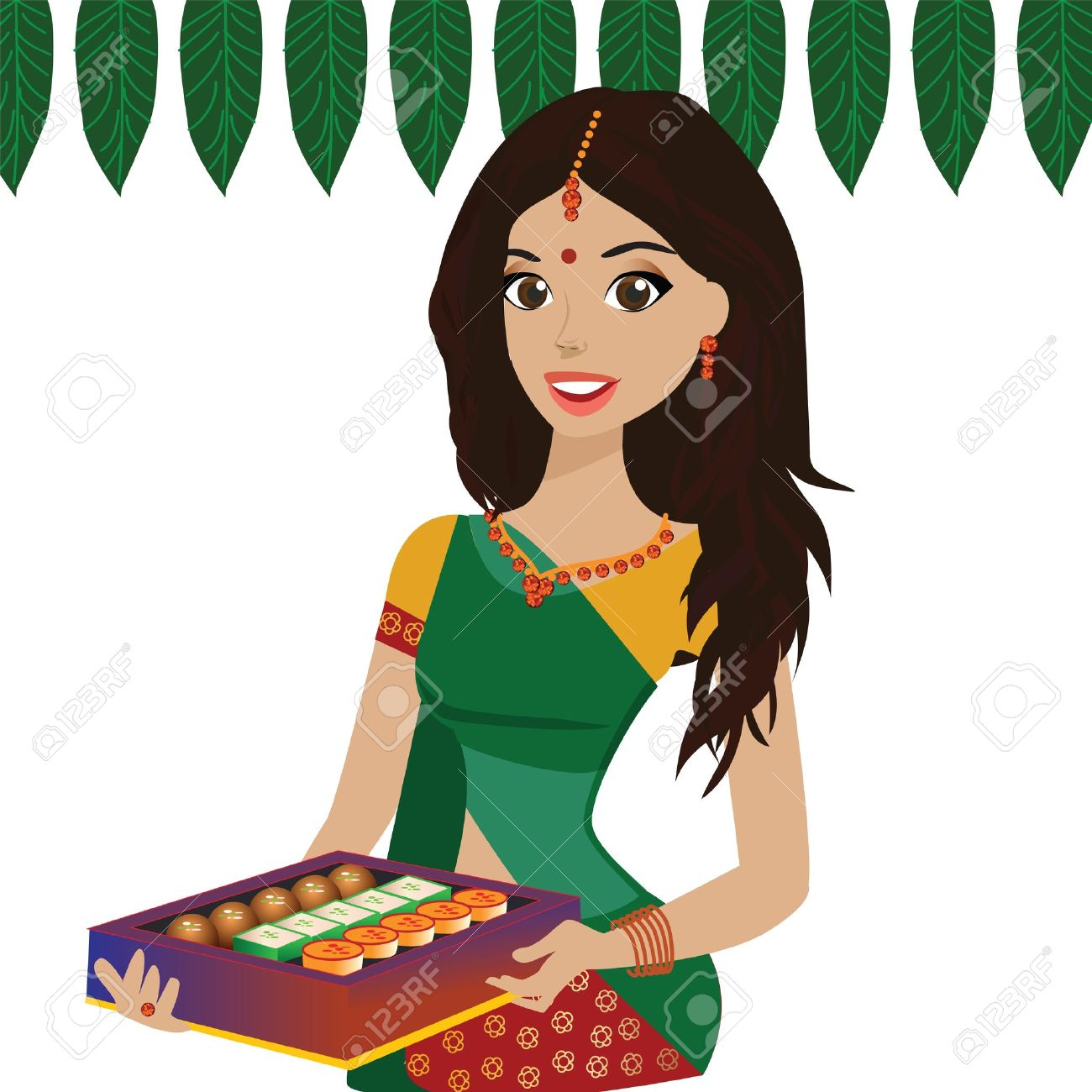 Woman from india clipart image freeuse Little indian girl clipart form india - ClipartFest image freeuse