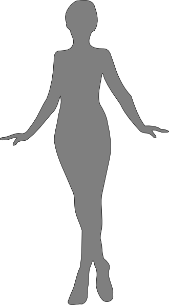 Woman grey silhouette clipart picture royalty free Woman, Silhouette, Gray Clip Art at Clker.com - vector clip ... picture royalty free