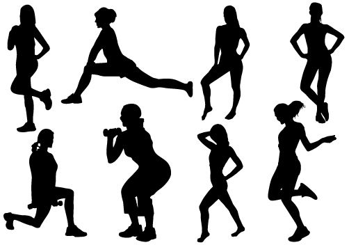 Woman gym clipart clipart transparent Workout woman clipart clipartfest of - ClipartBarn clipart transparent