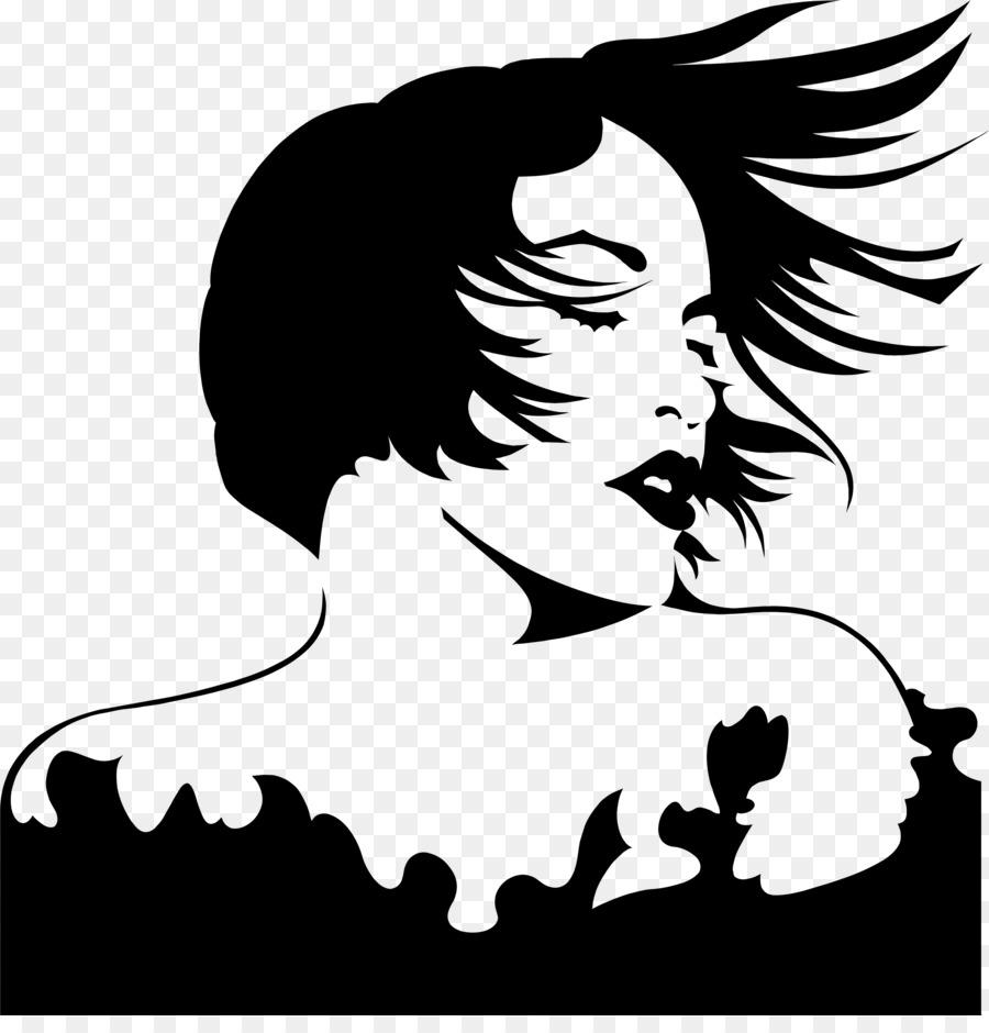 Woman hair silhouette clipart clip library stock Woman Hair clipart - Silhouette, Illustration, Woman ... clip library stock