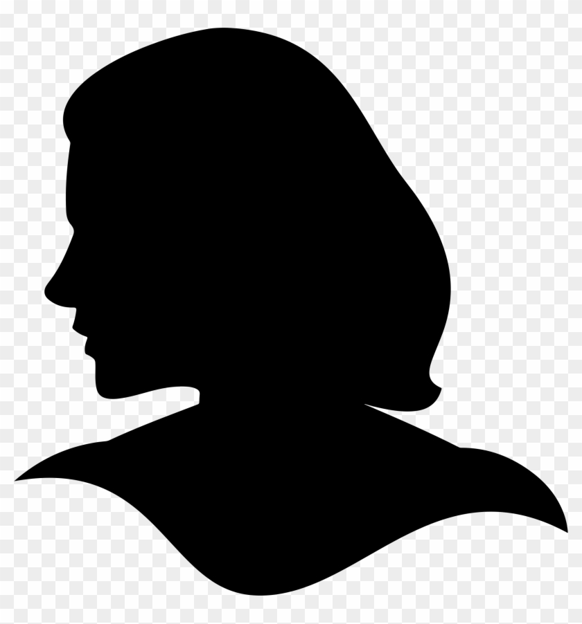 Woman head clipart png svg royalty free download Brain Clipart Woman - Woman Head Silhouette Vector, HD Png ... svg royalty free download