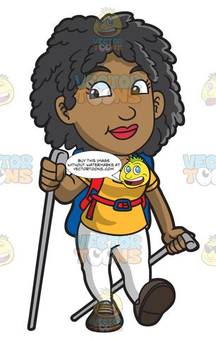 Woman hiking clipart picture transparent library Royalty Free Images – Tagged \