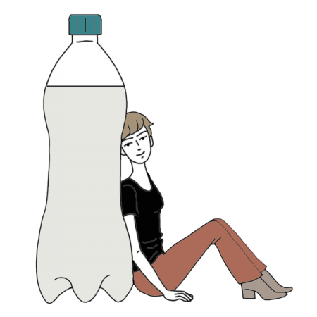 Woman holding water bottle clipart image transparent Bottle of Water Dream Dictionary: Interpret Now! - Auntyflo.com image transparent