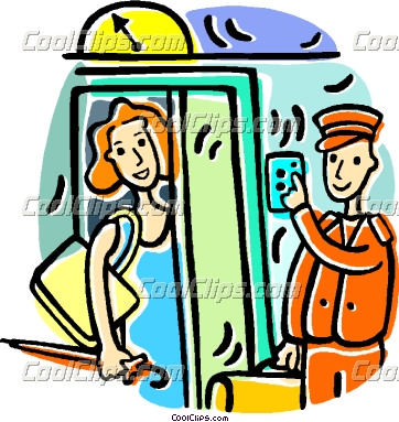 Woman in elevator clipart clipart free library woman entering an elevator   Clipart Panda - Free Clipart Images clipart free library