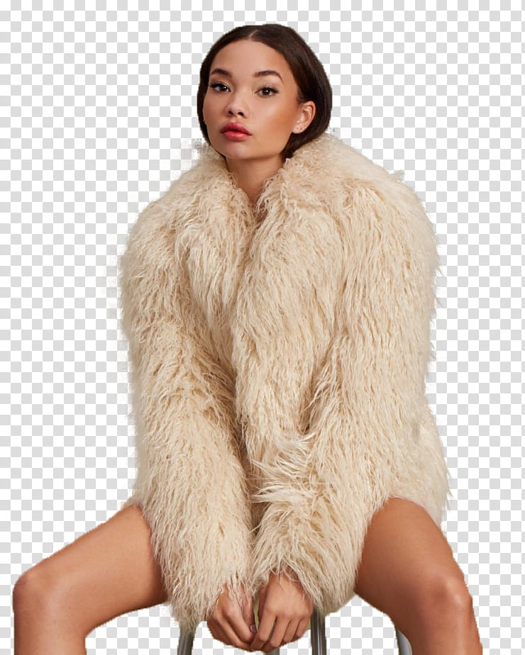 Woman in fur coat clipart graphic royalty free stock ASHLEY MOORE, woman sitting on stool wearing white fur coat ... graphic royalty free stock