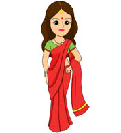 Woman in saree clipart svg freeuse Search Results for saree clipart - Clip Art - Pictures ... svg freeuse