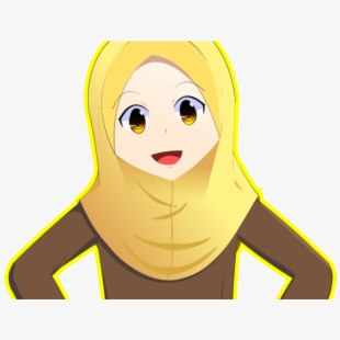 Woman in scarf clipart png transparent download Beautiful Clipart Hijab - Icon Hijab Girl Png #752950 - Free ... png transparent download