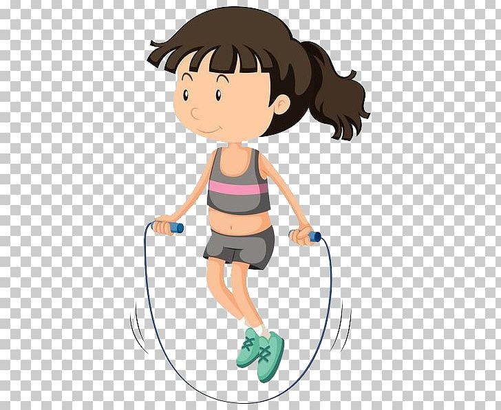 Woman jump rope clipart graphic free download Skipping Rope Stock Photography PNG, Clipart, Arm, Baby Girl ... graphic free download