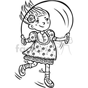 Woman jump rope clipart black graphic jump rope clipart - Royalty-Free Images   Graphics Factory graphic