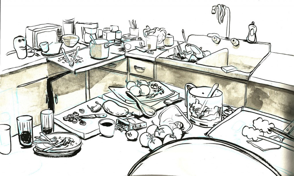 Woman messy kitchen clipart vector freeuse download Free Kitchen Mess Cliparts, Download Free Clip Art, Free ... vector freeuse download