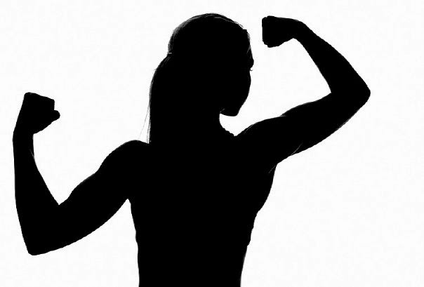 Woman muscle clipart jpg black and white download Free Girl Flexing Cliparts, Download Free Clip Art, Free ... jpg black and white download