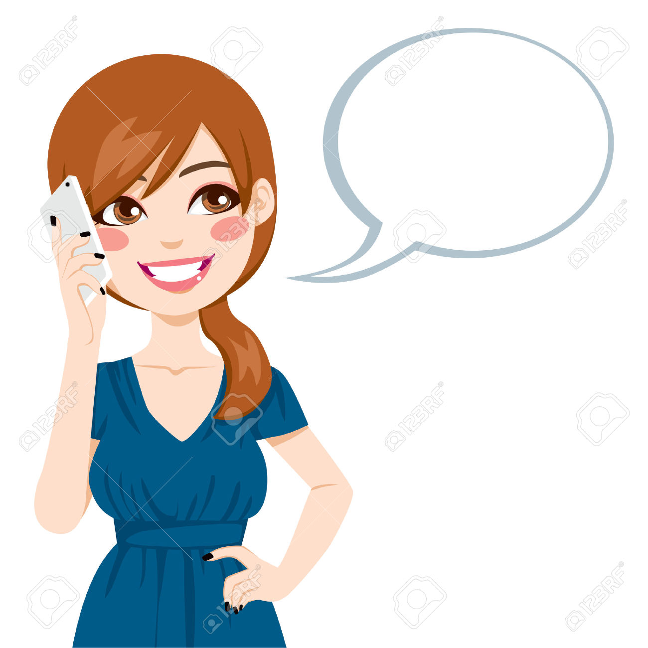 Woman on cell phone clipart free clip art freeuse Phone Call Images | Free download best Phone Call Images on ... clip art freeuse