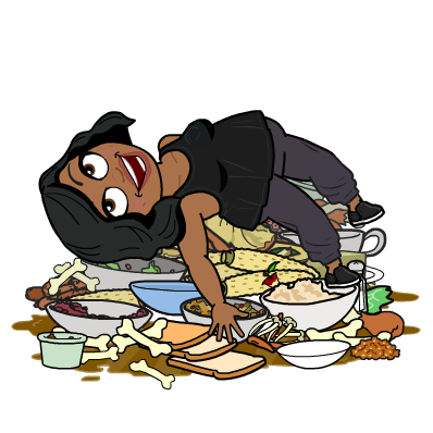 Woman overeating clipart jpg free library Binge Eating PNG Transparent Binge Eating.PNG Images. | PlusPNG jpg free library