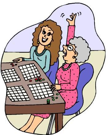 Woman playing bingo clipart vector royalty free Free Clipart Bingo | Free download best Free Clipart Bingo ... vector royalty free