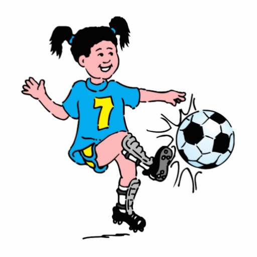 Woman playing football clipart image library download Free Woman Sports Cliparts, Download Free Clip Art, Free ... image library download