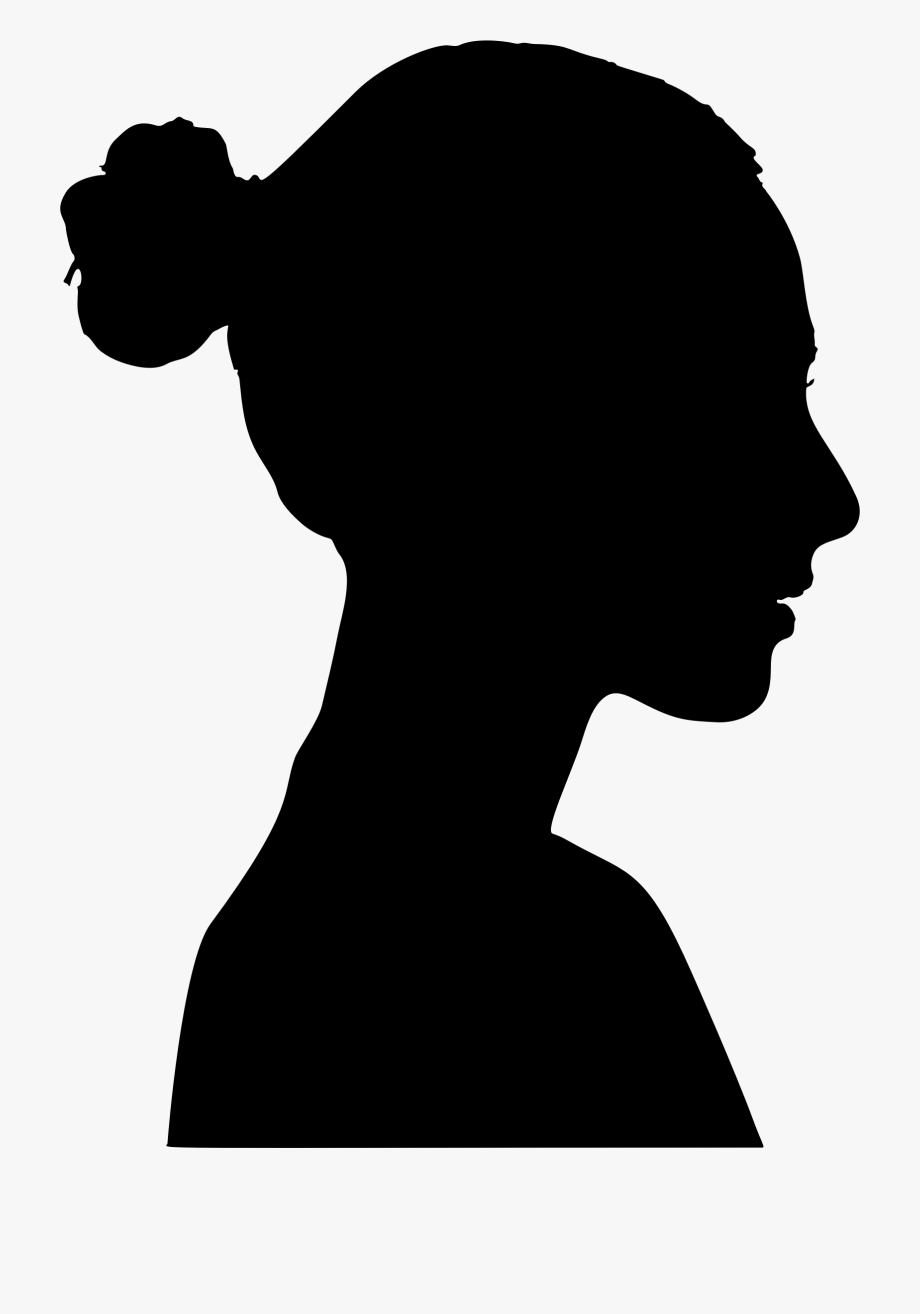 Woman profile clipart graphic freeuse download Female Profile Clipart - Woman Profile Silhouette Png ... graphic freeuse download