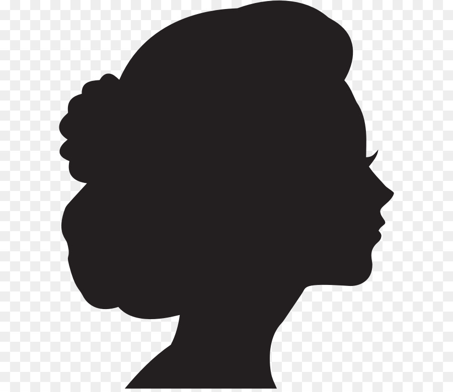 Woman profile clipart svg royalty free download Female Silhouette Clip art - Silhouette Profile png download ... svg royalty free download