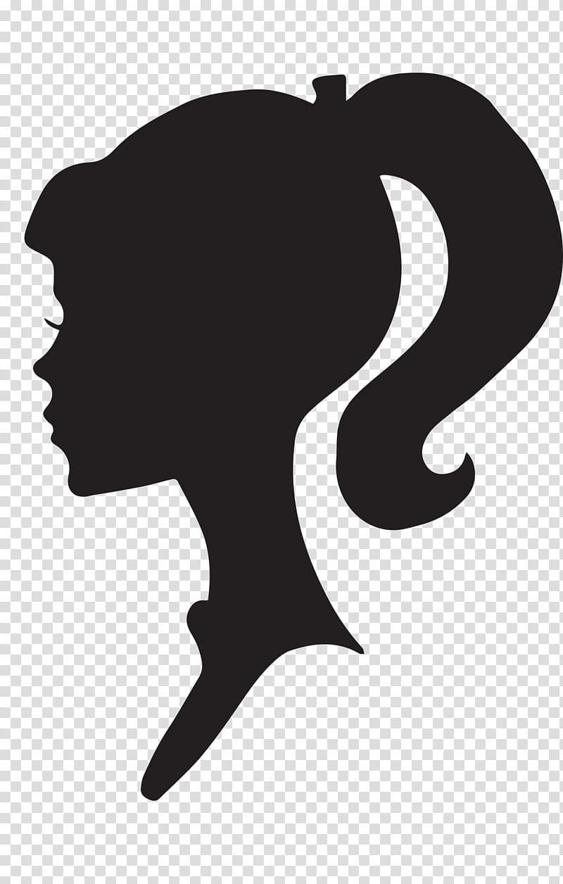 Woman profile clipart transparent download Female Silhouette Profile, Barbie logo transparent ... transparent download