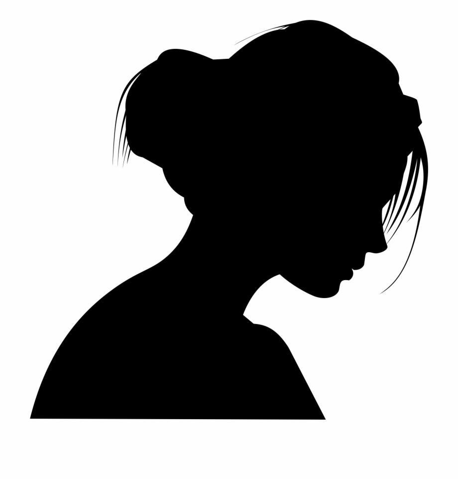 Woman profile clipart clip art download Female Head Profile Silhouette By Merio - Silhouette Free ... clip art download