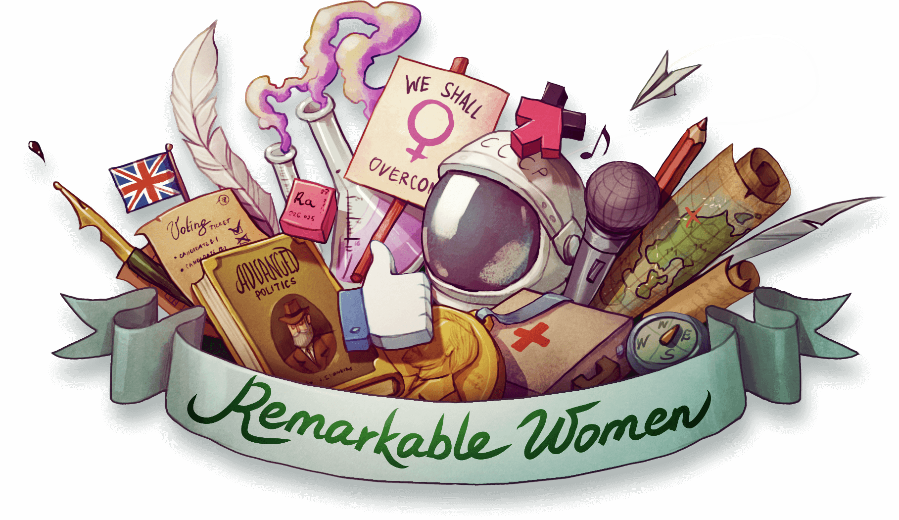 Woman remembers clipart picture freeuse Remarkable Women: 20 Women Who Shaped the World | Feelunique picture freeuse