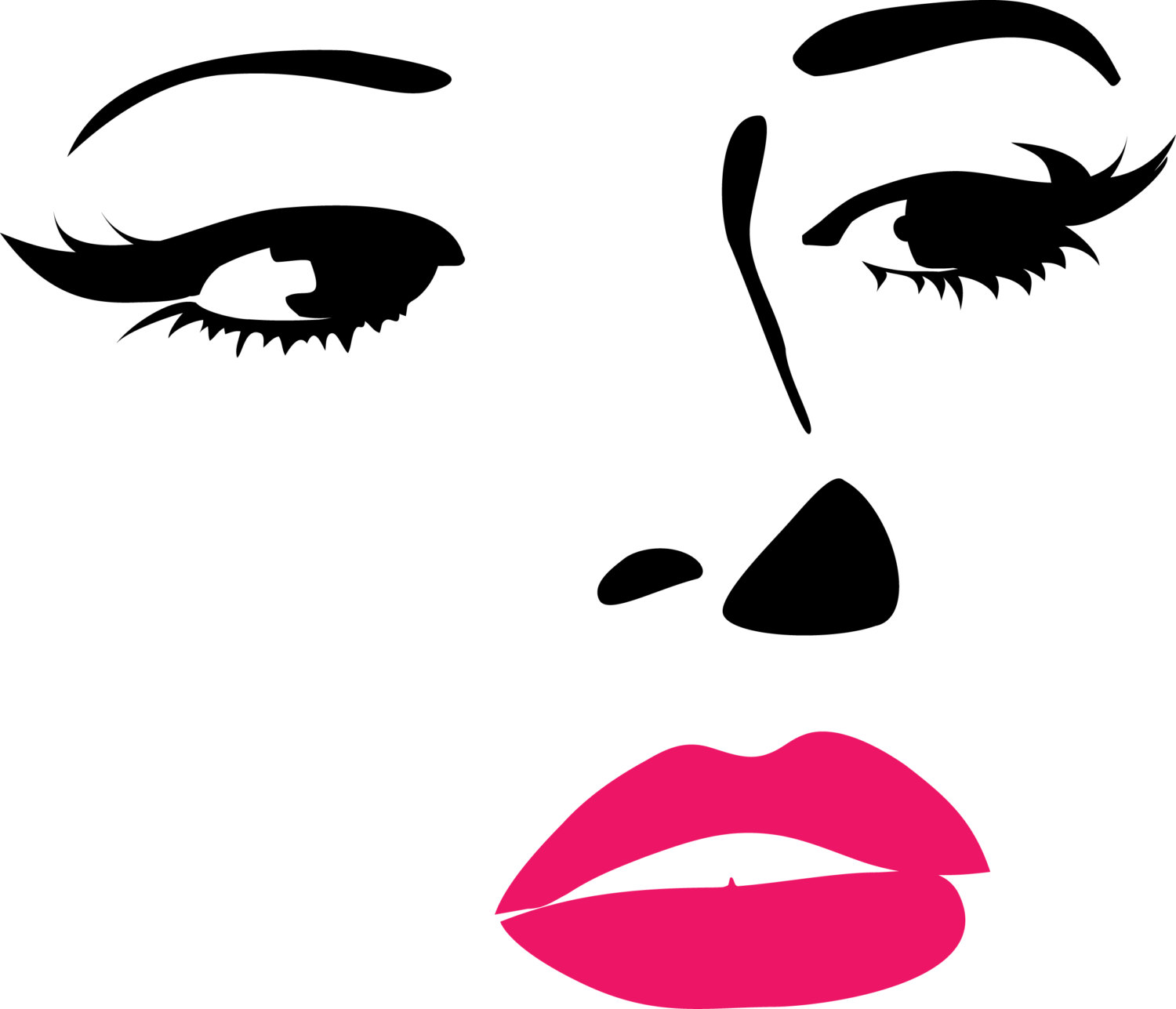 Woman s face clipart svg transparent stock Free Female Face Cliparts, Download Free Clip Art, Free Clip ... svg transparent stock