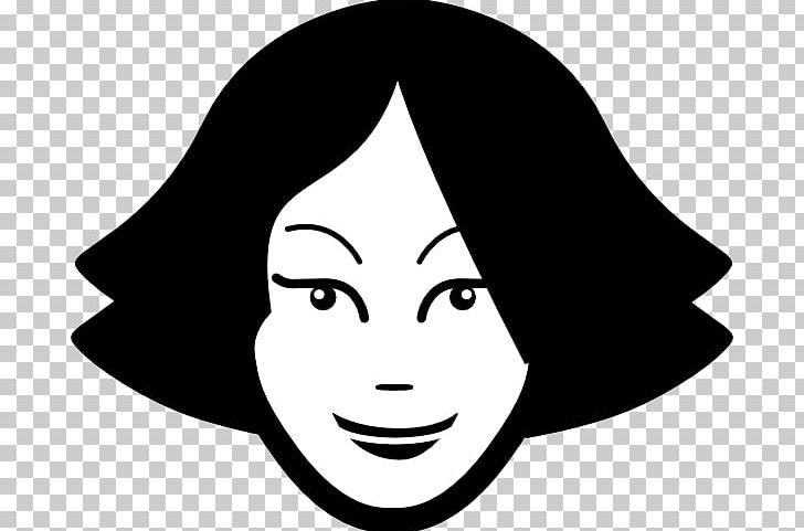 Woman s face clipart clip art royalty free download Woman Smiley Face PNG, Clipart, Artwork, Black, Black And ... clip art royalty free download