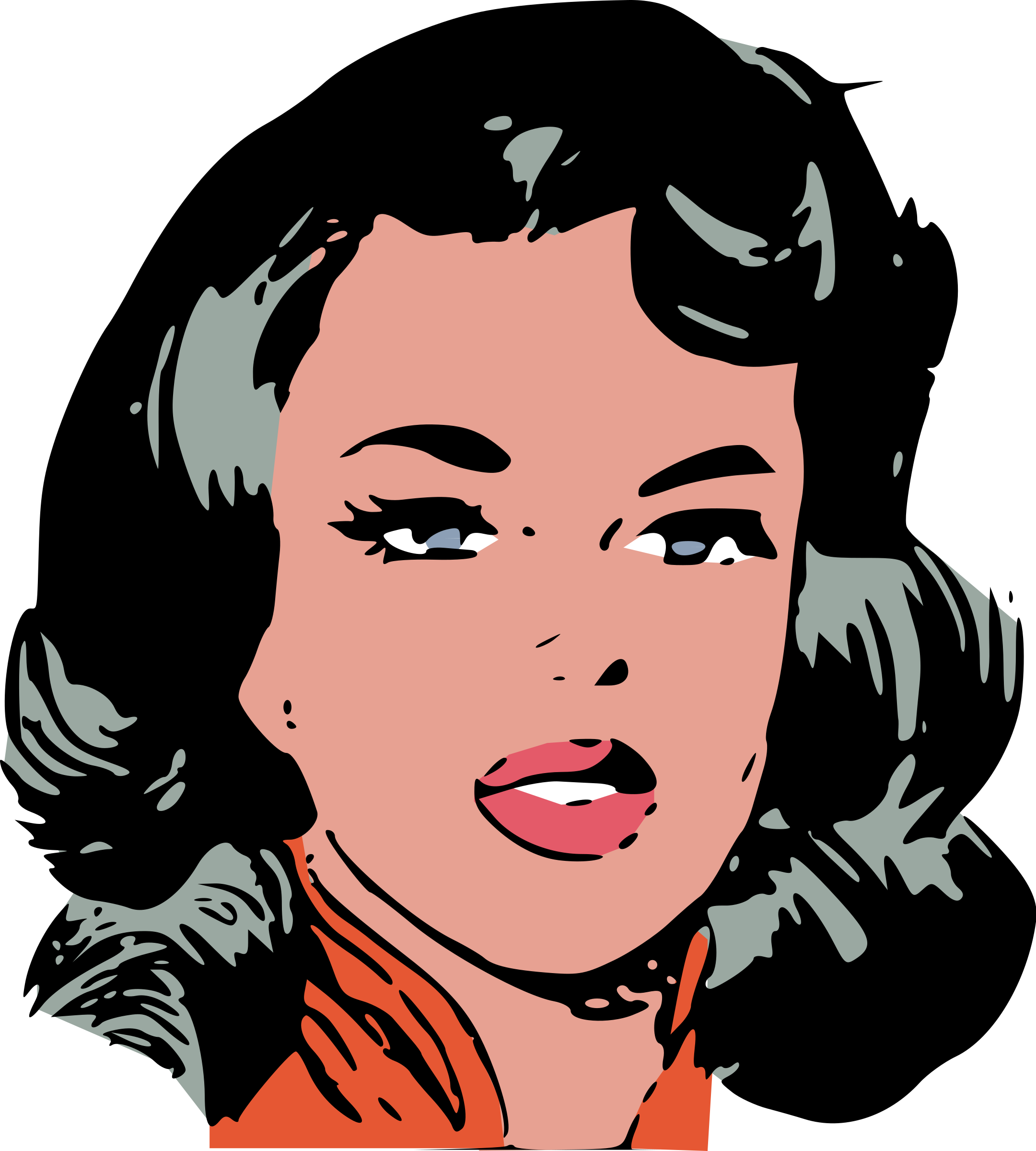 Woman s face clipart clipart freeuse download Free Face Woman Cliparts, Download Free Clip Art, Free Clip ... clipart freeuse download